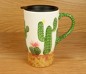 Camp Hill Cactus Travel Mug