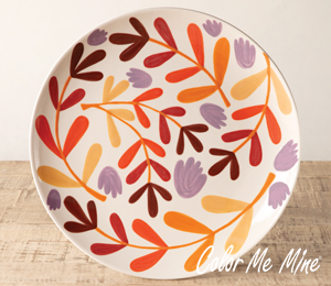 Camp Hill Fall Floral Charger